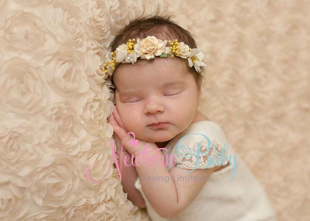 Champagne Fabric Backdrop Newborn Baby Posing Limited